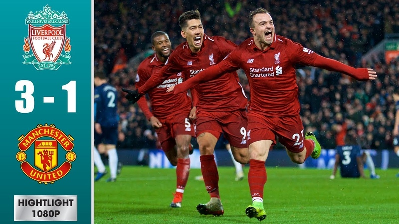 Liverpool vs Manchester United 3-1 - All Goals Extended Highlights - 2018