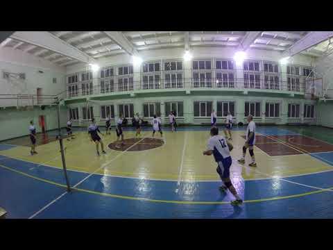 ОВЛВ. 4 неделя. Первая лига. ВК Мятый гусь - ВК Ветераны волейбола