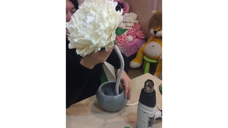 Светильник ПИОН, сборка электрики, сажаем цветочек в горшочек