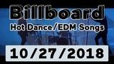 Billboard Top 50 Hot DanceElectronicEDM Songs (October 27, 2018)