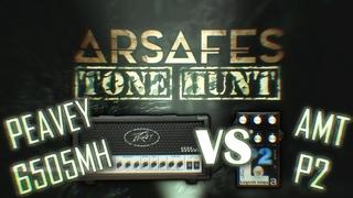 Peavey 6505MH vs AMT P2 (Arsafes Tone Hunt)