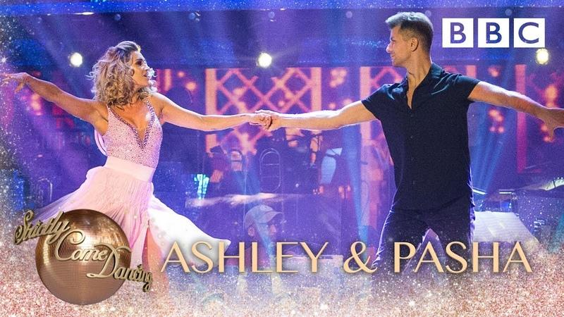 Ashley Roberts Pasha Kovalev Salsa to 'Time Of My Life' - BBC Strictly 2018