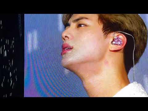 190519 Jin Epiphany (Jin Cried 😭) BTS Speak Yourself Tour Metlife Stadium Fancam
