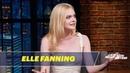 Elle Fanning's Childhood Games Involved Pretend Childbirth