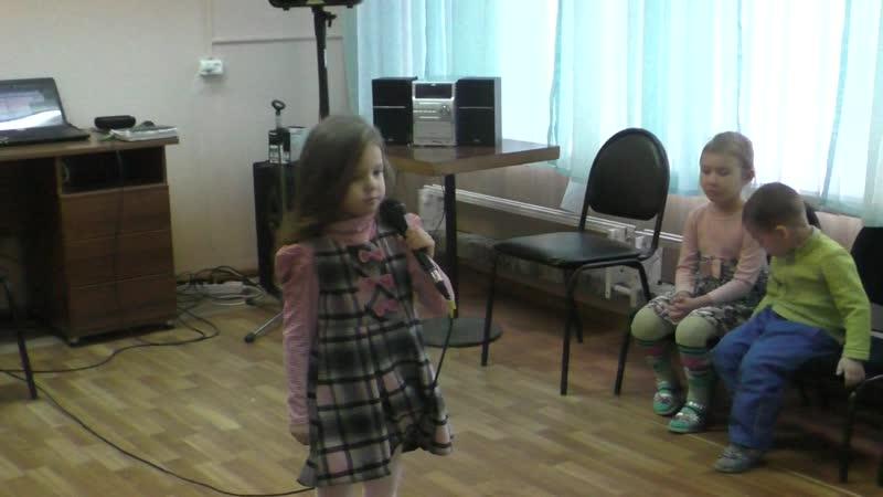 ЭВШ ИК Мария Конарева Дюймовочка 2018