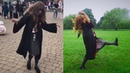 Dancing Hermione LeviOH SHE DID THAT