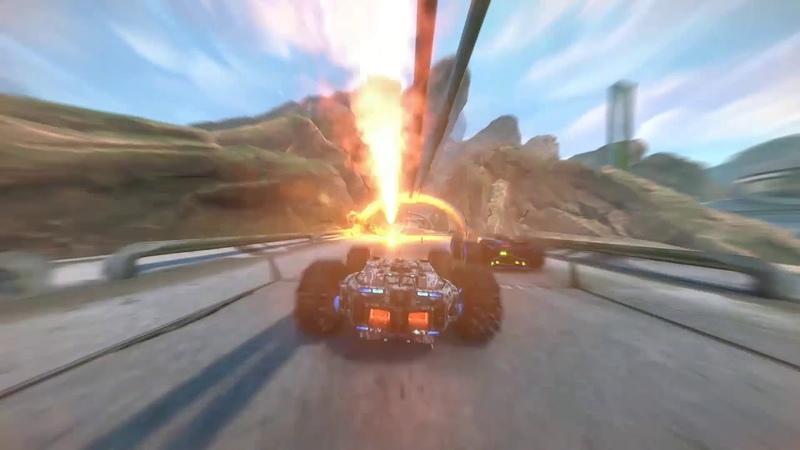 GRIP Combat Racing   Релизный трейлер   Уже вышла!   PEGI