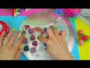 [Стася Мар] DIY ПРОЗРАЧНЫЙ ЛИЗУН мешаем c ТЕНЯМИ / ПОСТАРАЙСЯ НЕ ЗАЛИПНУТЬ   Satisfying Slime ASMR