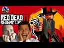 Red dead redemption 2 смешное прохождение 13 Артурчик идет погулять, все в ужасе
