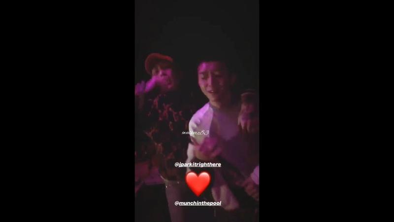 [06.11.2018] Jay Park Woo Wonjae Funny Momment at Soap seoul