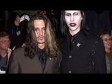 Johnny Depp And Marilyn Manson #2