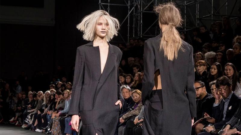 Yohji Yamamoto | Spring Summer 2019 Full Fashion Show | Exclusive