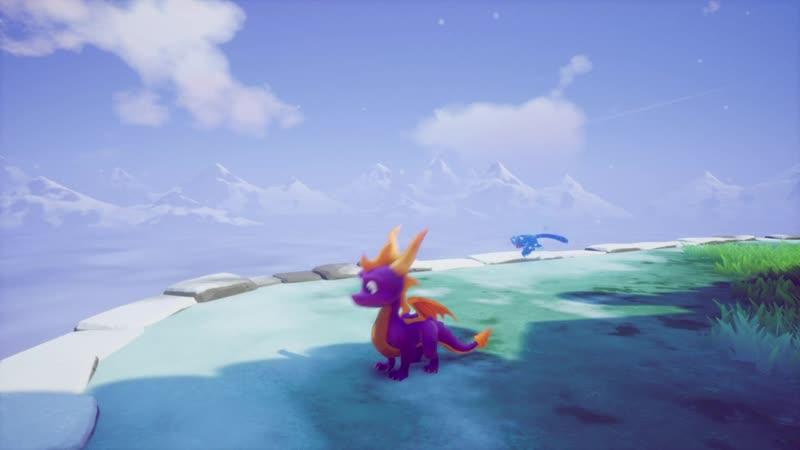 Глюк дыхания Спайро в игре Spyro Reignited Trilogy