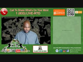RTD Live Talk ft. Lior Gantz 'Let's Talk Stock Crash, Cryptocurrency & More' (Give Us A Call)