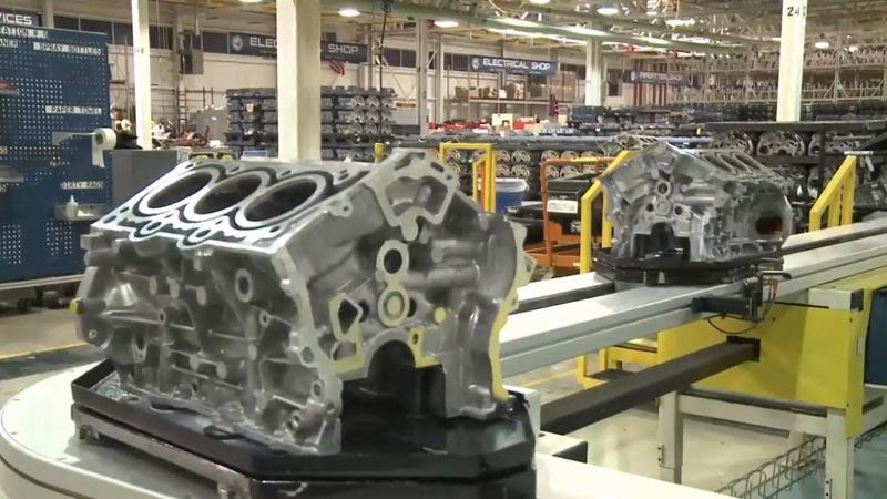 Сборка моторов CHRYSLER.Motor assembly