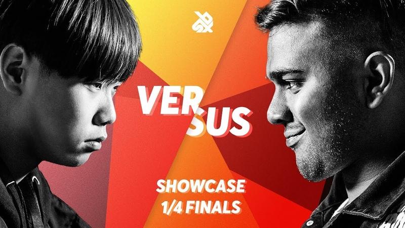 HISS vs PIRATHEEBAN | Grand Beatbox SHOWCASE Battle 2018 | 1/4 Final