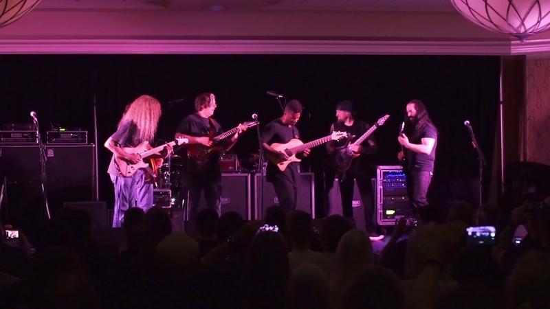 All Star Jam at John Petruccis Guitar Universe 2.0