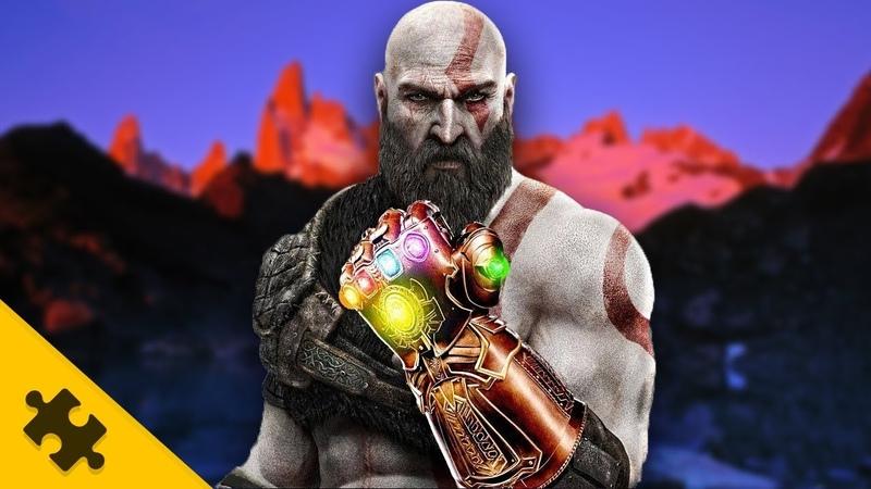ПАСХАЛКИ GOW - Перчатка ТАНОСА из Мстителей от MARVEL! ГДЕ НАЙТИ эпичное СОКРОВИЩЕ? (Easter Eggs)