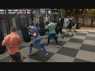 """Good Old Boxing"" - Training at 19.12.18"