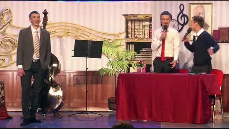 2014 КВН Молодость Красноярск высшая лига 1 4 Музыкалка