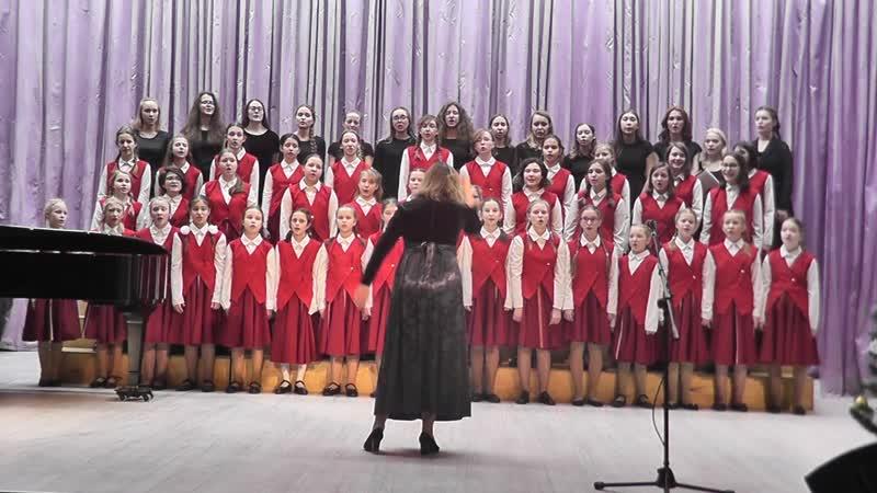 Старший концертный хор Лаулу 16.12.2018