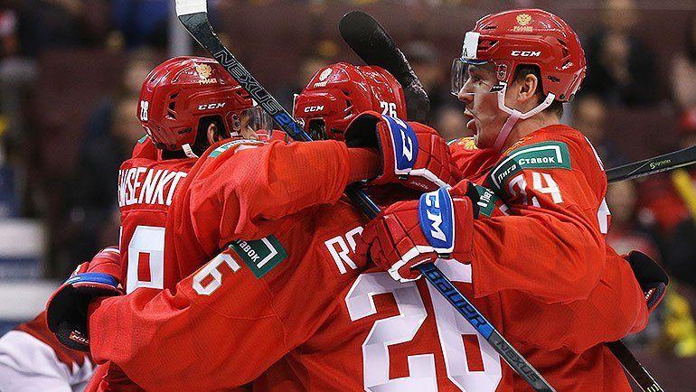 Россия обыграла Данию на старте молодежного чемпионата мира (Видео)