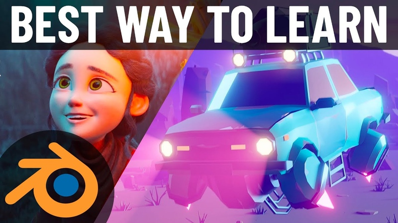 The BEST Way to Learn Blender 2.8