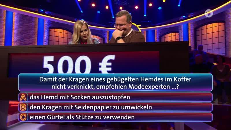 C. C. Catch on TV Show Wer Weiss Denn Sowas?