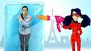Куклы Леди Баг в ToyClub Квин Би на лыжах Видео для девочек