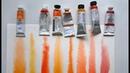 Акварельные краски Кадмий оранжевый