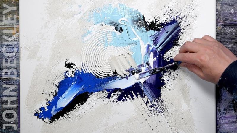 Art Abstrait - Peinture à l'acrylique - Démonstration | Signac
