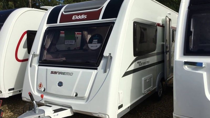 New Elddis Sanremo 422 touring caravan show through by Venture