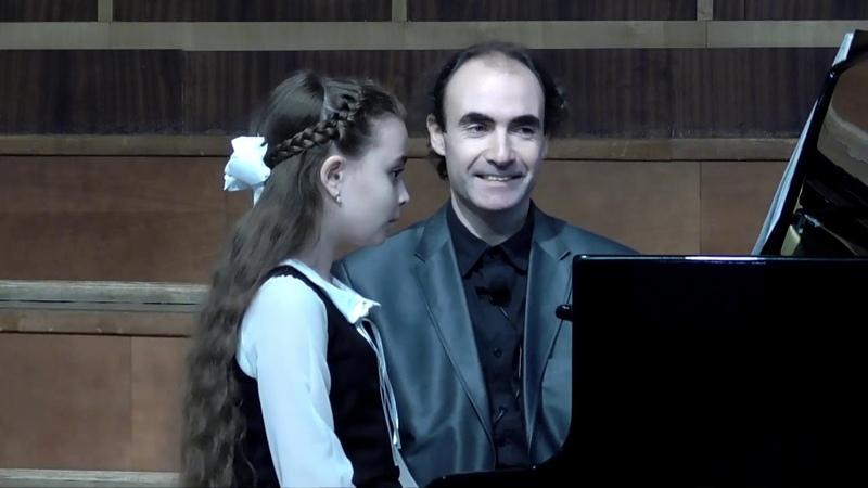 мастер-класс преподавателя консерватории Олега Вайнштейна