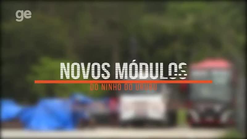 Ninho do Urubu a 40 dias da inauguração