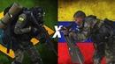 Brasil x Venezuela - Comparação Militar