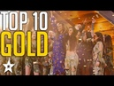 Top 10 Unforgettable Golden Buzzers on America's Got Talent Got Talent Global