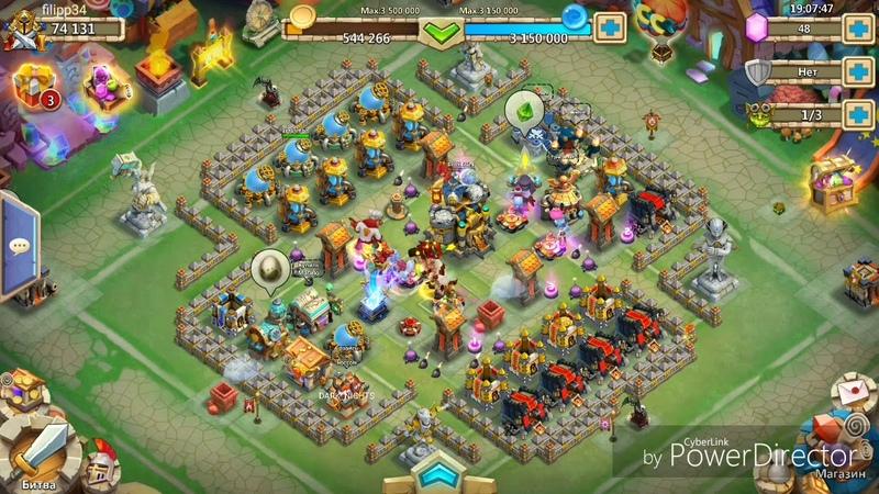 Конкурс на 3 акка в битве замков