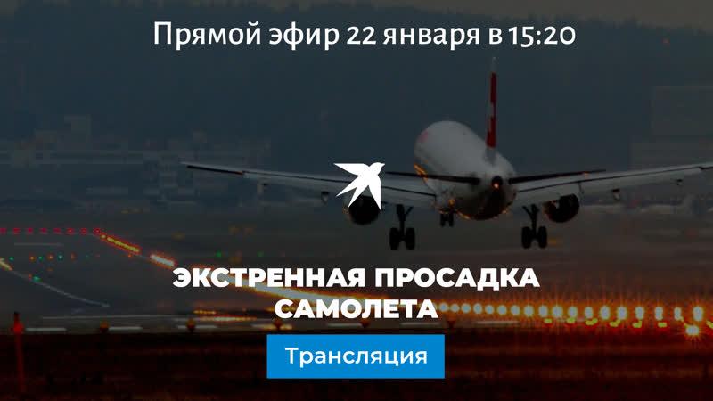Пассажир самолета потребовал развернуть лайнер Борт совершил экстренную посадку