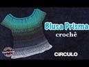 Blusa de croche Prisma - Renata Vieira