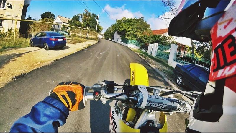 Suzuki RMZ 250 Sevastopol Crimea motocross