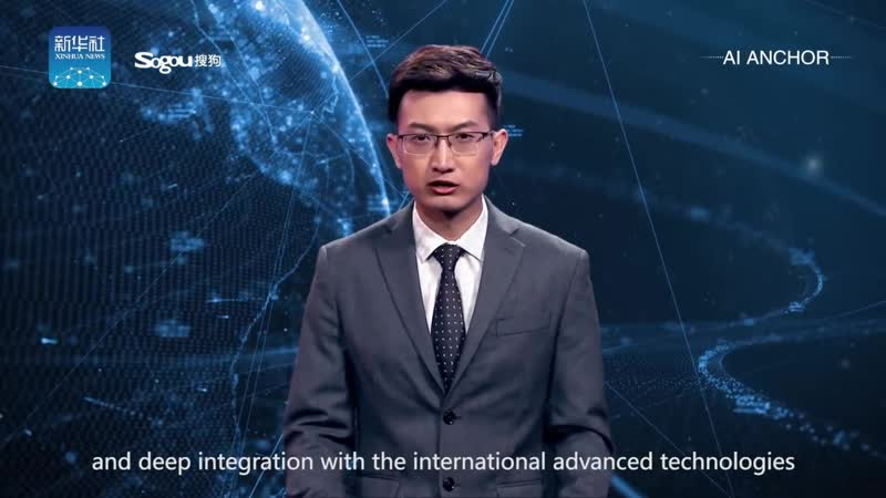 Worlds first AI news anchor makes China debut