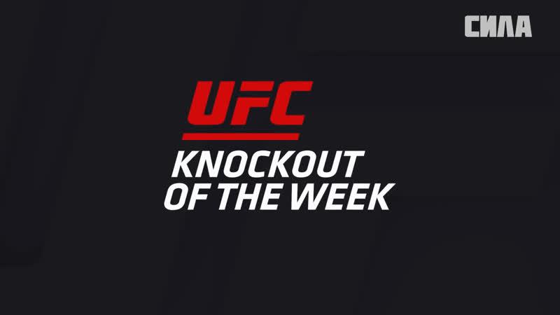 KO of the Week Edson Barboza vs Terry Etim