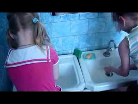 Водные процедуры в детском саду