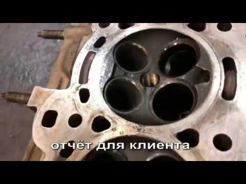 отчёт по ремонту ГБЦ лайт / Mazda CX7