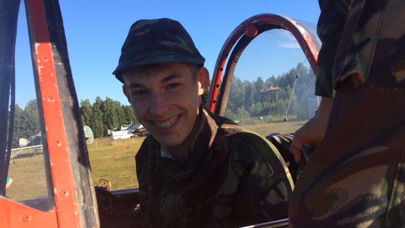 Запуск и руление Як-52 2016