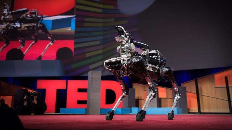 Meet Spot the robot dog that can run hop and open doors Marc Raibert