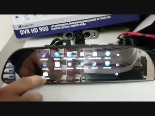 Видео регистратор + зеркало заднего вида на Android