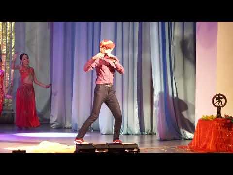 Танец Кис-кис Алексей Беляев и Сарасвати на сцене КДК...))