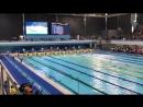 100 backstroke
