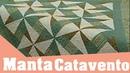 Como fazer a Manta Catavento com Régua Entrelaçada | Programa Arte Brasil | Ana Cosentino